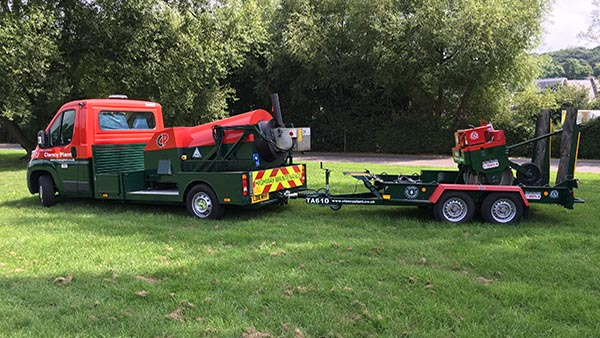 Roadmender and trailer